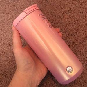 Starbucks Pink Hot Tumbler